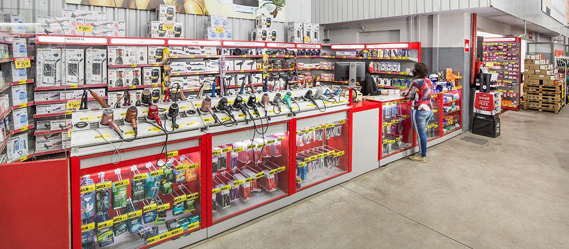 Balcão Caixa de Supermercado