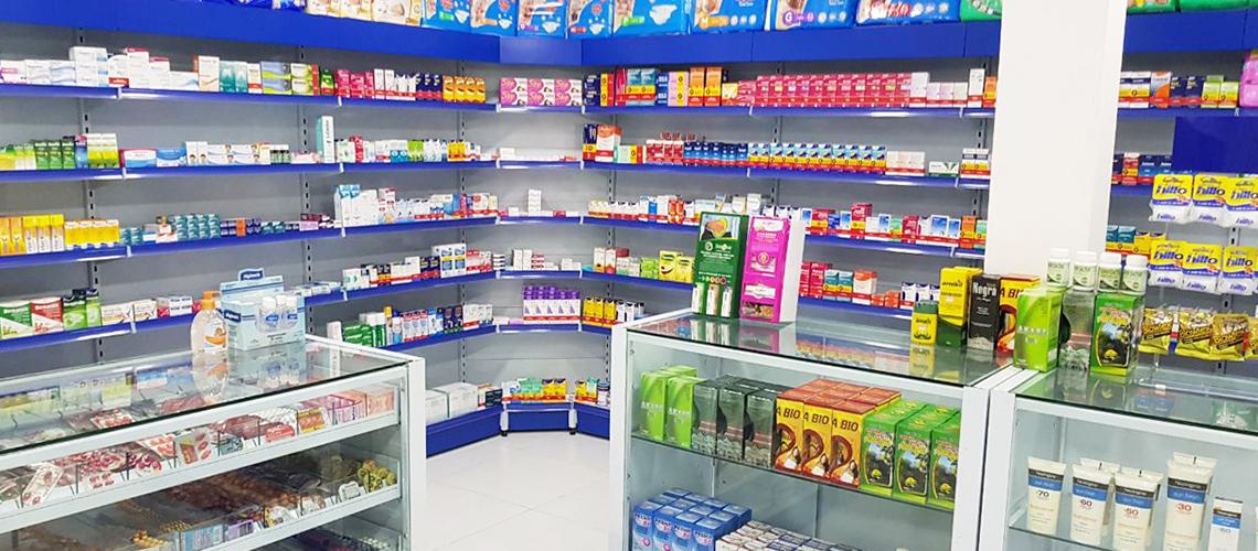 Instalações para Drogarias e Farmácias