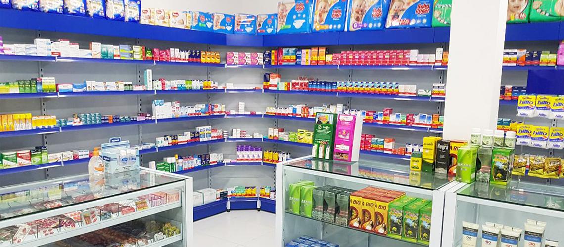 Prateleira de Aço para Farmácia Preço