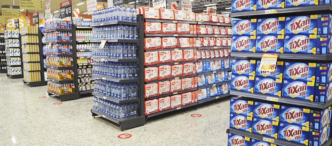 Prateleiras para Supermercado
