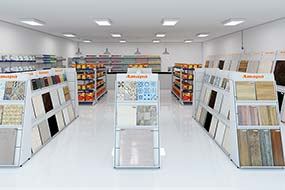 Expositores para Lojas de Material de Construção
