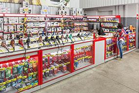 Fábrica de Balcão para Supermercado