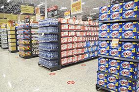 Instalações para Supermercado