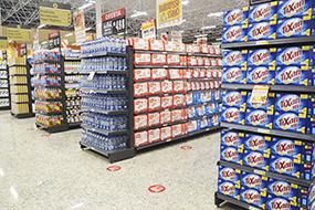 Prateleiras de Aço para Supermercado