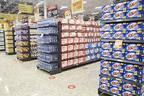Prateleiras e Gôndolas para Supermercados