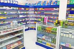 Prateleiras para Drogaria e Farmácia