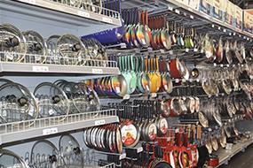 Prateleiras para Lojas de Utilidades